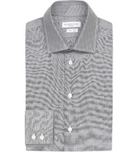 Richard James Slim Fit Cotton Shirt Grey