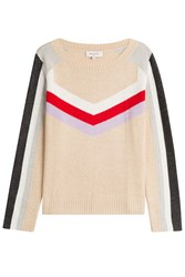 Paul And Joe Pullover With Wool Cotton Cashmere Beige