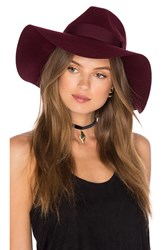 Brixton Piper Hat Burgundy