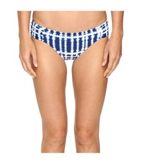 Lablanca Moody Blues Side Shirred Hipster Bottom Midnight Women's Swimwear Navy