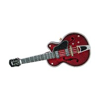Judith Leiber Couture Rock 'N' Roll Guitar Minaudiere Red