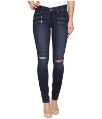 Paige Edgemont Ultra Skinny In Aveline Destructed No Whiskers Aveline Destructed No Whiskers Women's Jeans Blue
