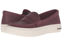 Seavees 10 64 Freedom Penny Deep Cherry Women's Shoes Red