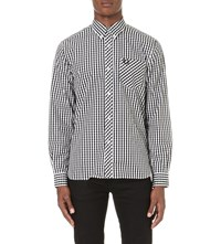 Fred Perry Reissues Gingham Cotton Shirt Black