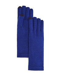 Aqua Solid Tech Gloves Bright Navy