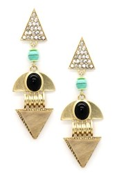 Eye Candy Los Angeles Aztec My Ear Earrings Multi