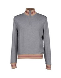 Alpha Massimo Rebecchi Turtlenecks Grey