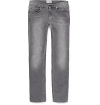 Acne Studios Ace Skinny Fit Stretch Denim Jeans Gray