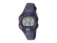 Timex Ironman Classic 30 Mid Size Resin Strap Purple Gray Accent Watches Black