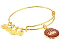 Alex And Ani Charity By Design Fearless Bangle Yellow Gold Bracelet