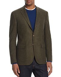 Polo Ralph Lauren Houndstooth Wool Sport Coat 100 Bloomingdale's Exclusive Dark Olive Multi