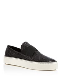 Stuart Weitzman Flex Slip On Sneakers Black