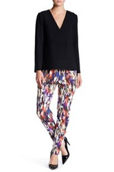 French Connection Printed Drape Trouser Multi