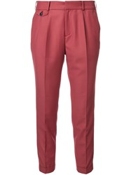 Loveless Peg Trousers Red