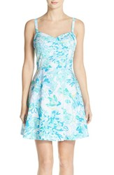 Women's Lilly Pulitzer 'Willow' Print Cotton Fit And Flare Dress