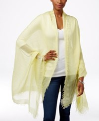 Collection Xiix Take Me Away Solid Travel Scarf Lemon Souffle