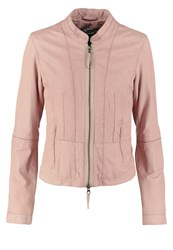 Oakwood Leather Jacket Nude