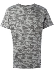 Les Artists Art Ists Camouflage Margiela T Shirt Grey