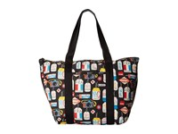Le Sport Sac Large On The Go Tote Boarding Pass Tote Handbags Multi