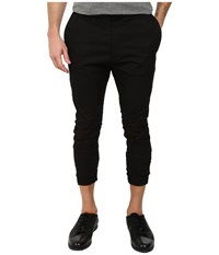Hugo Hedt 10166740 01 Black Men's Casual Pants