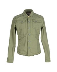 Gas Jeans Gas Coats And Jackets Jackets Men Military Green