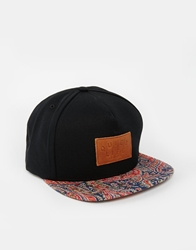 The Quiet Life X Liberty Paisley Bill Snapback Cap Black