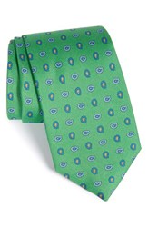 Gitman Brothers Vintage Men's Gitman Paisley Silk Tie Green