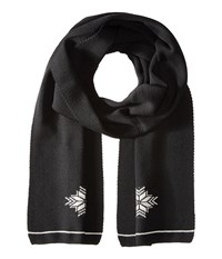 Dale Of Norway Geilo Scarf Black Off White Scarves
