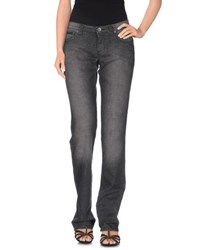 Moschino Jeans Denim Denim Trousers Women Grey