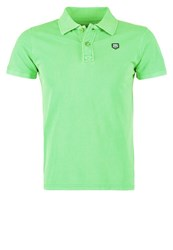 Petrol Industries Polo Shirt Andean Toucan Neon Green