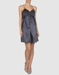 Minimum Short Dresses Dark Blue