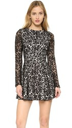 Style Stalker Viper Long Sleeve Dress Black
