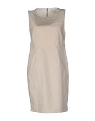 New York Industrie Short Dresses Light Grey