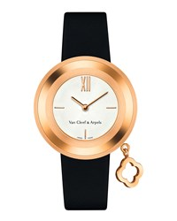 Charms Pink Gold Watch 32Mm Van Cleef And Arpels Pink Gold