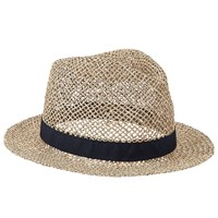 John Lewis Seagrass Trilby Hat Natural