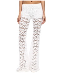 Nightcap Dixie Lace Bells White Women's Casual Pants
