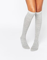 Monki High Sock Grey
