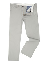 Linea Turner Cotton Chinos Light Grey