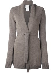 Stephan Schneider Belted Cardigan Nude And Neutrals