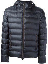 Herno Quilted Oversized Puffer Jacket Blue
