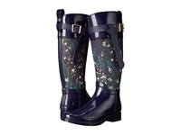Ted Baker Hampto Dark Blue Rubber Women's Rain Boots Navy