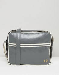 Fred Perry Classic Messenger Bag Grey