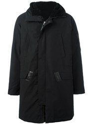 11 By Boris Bidjan Saberi 'Allen' Padded Coat Black