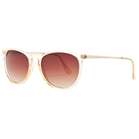 John Lewis Slim D Frame Sunglasses Clear
