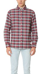 Penfield Ingersoll Brushed Check Shirt Grey