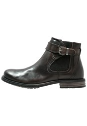 Sneaky Steve Milton Ankle Boots Charcoal London Grey