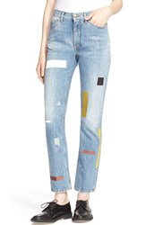 Women's Aries 'Norm' Taped Straight Leg Jeans