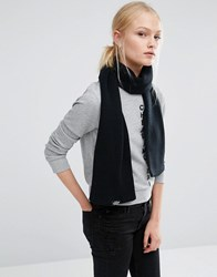 Cheap Monday Knitted Long Scarf Black