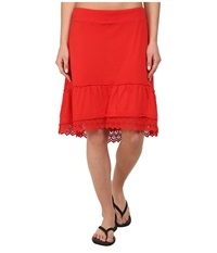Prana Laine Skirt Cherry Pop Women's Skirt Red