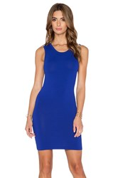 Stockholm Knit Dress Blue